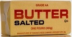 Pasture Raised RAW MILK Salted Butter (1 lb)