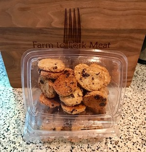 PALEO Almond Chocolate Chip Cookies (18 cookies)
