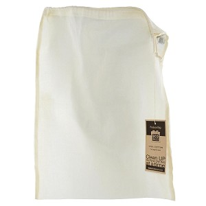 "Eco Bags Natural Cotton Gauze Produce & Grain Bag 13"" x 17"""