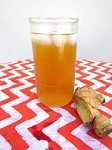 Home Brewed Ginger Kombucha