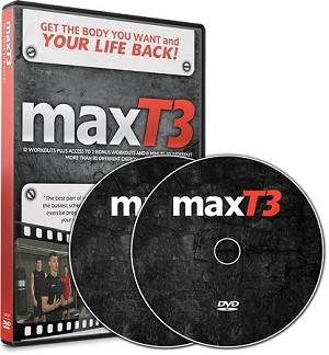 MAX T-3 Workout DVD designed by Maximized Living Chiropractors