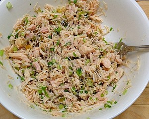Meals for Meenakshi SOY FREE- GMO FREE- HIgh Foraged Chicken Salad (Pint)