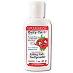 Eco-Dent Ultimate Essential MouthCare Strawberry Special Care Baking Soda Toothpowder 2 oz.