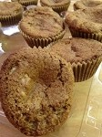 Almond Walnut Muffin with Chocolate Chips (Half Dozen)